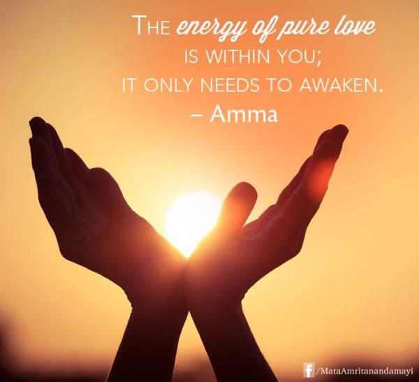 Amma Says...